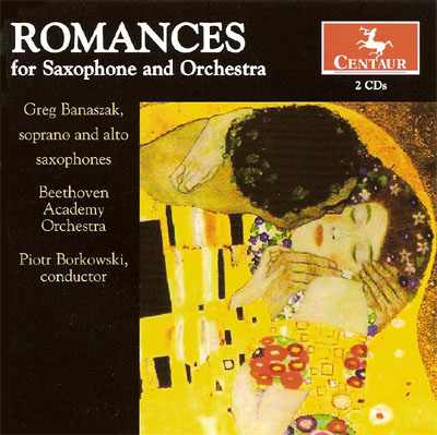 Romances for Saxophone & Orchestra cover