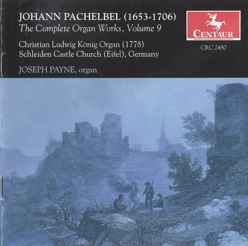 CRC 2480 Johann Pachelbel: The Complete Organ Works, Vol. 9