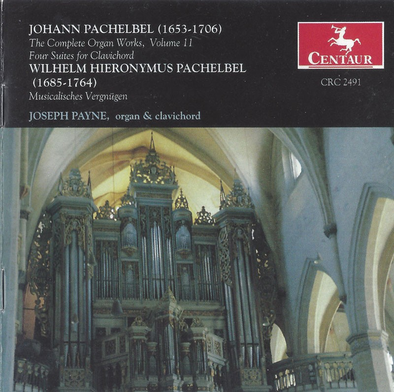CRC 2491 Johann Pachelbel: The Complete Organ Works, Vol. 11