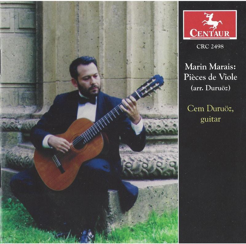 CRC 2498 Marin Marais: Pièces de Viole (arr. Duruoz)