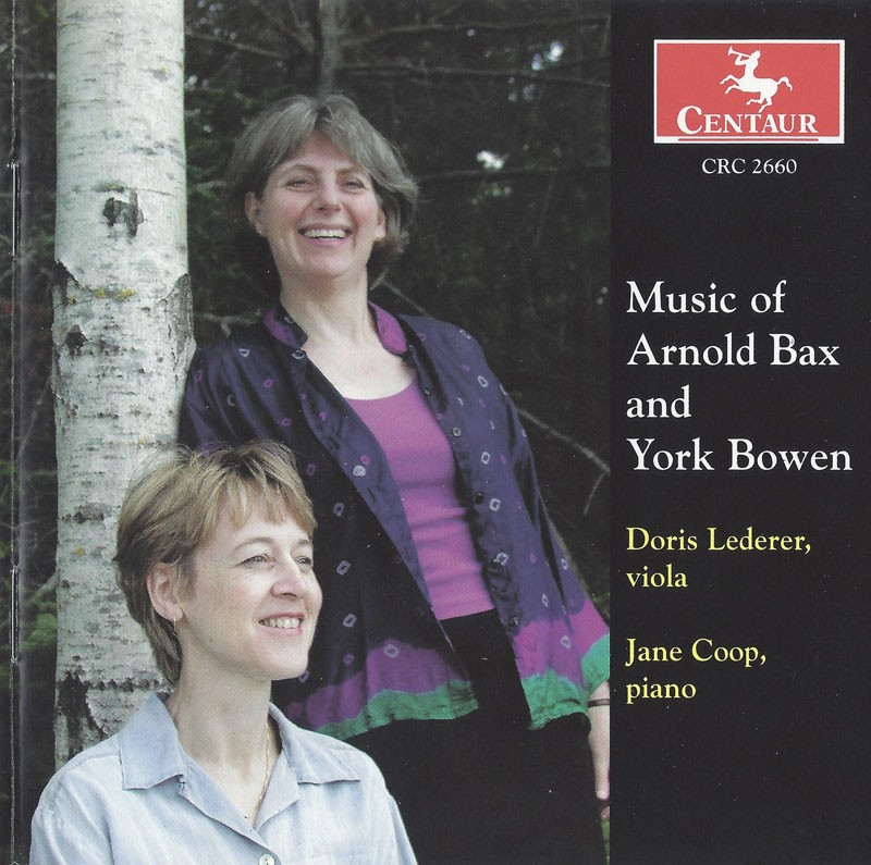 CRC 2660 Music of Arnold Bax and York Bowen.  Bowen: Sonata in c minor
