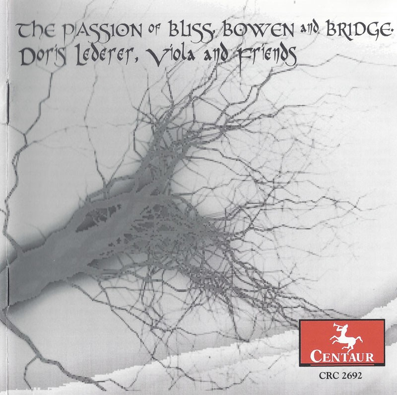 CRC 2692 The Passion of Bliss, Bowen and Bridge.  York Bowen: Fantasie Quartet for Four Violas