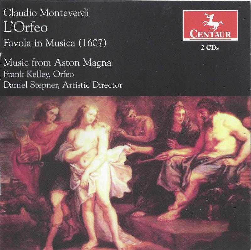 CRC 2931/2932 Claudio Monteverdi:  L'Orfeo (Favola in Musica)