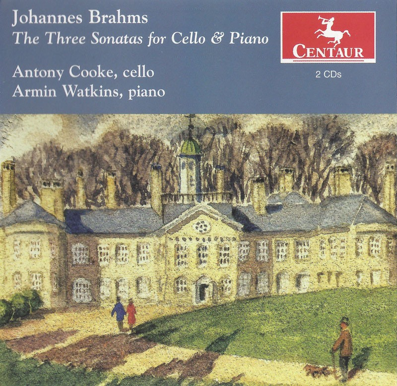 CRC 3140/3141 Johannes Brahms:  The Three Sonatas for Cello & Piano.  Sonata in E Minor, Op. 38
