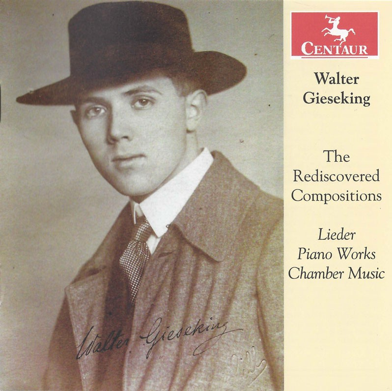 CRC 3215 Walter Gieseking: The Rediscovered Compositions