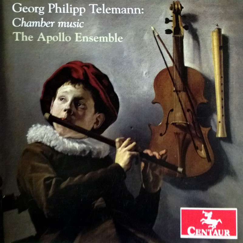 CRC 3267 Georg Philipp Telemann: Chamber Music - The Apollo Ensemble