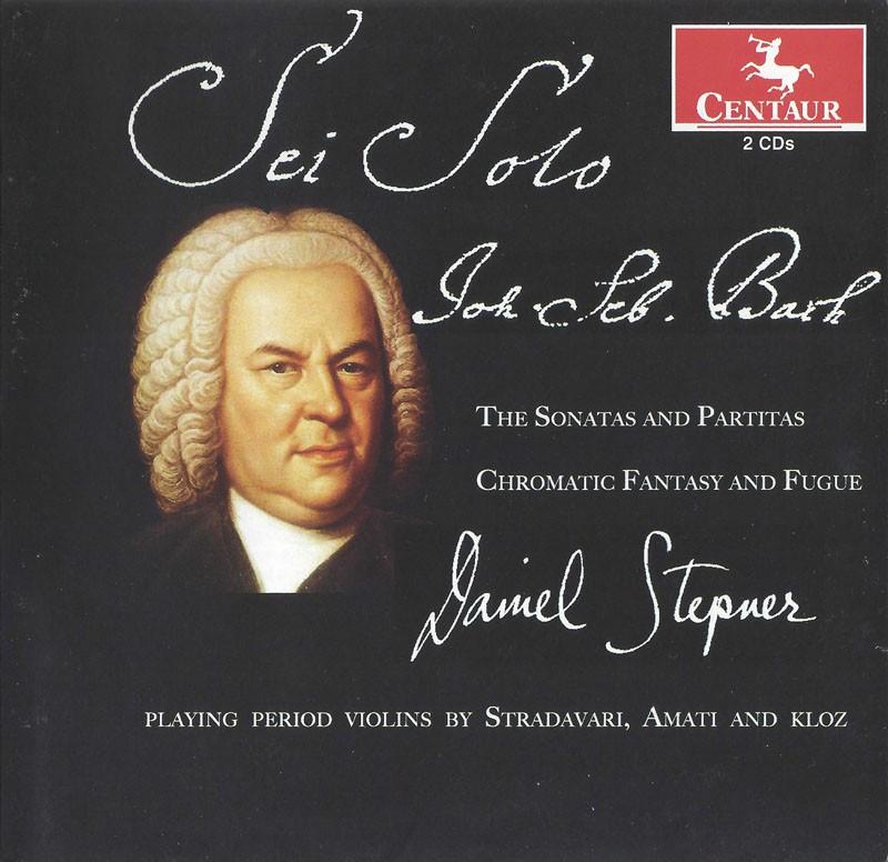 CRC 3283/3284 J.S. Bach:  The Sonatas and Partitas; Chromatic Fantasy and Fugue (2 CDs)
