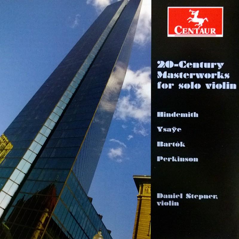 CRC 3315 20-Century Masterworks for solo Violin