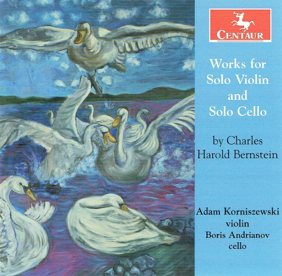 CRC 3362: Works for Solo Violin and Solo Cello by Charles Harold