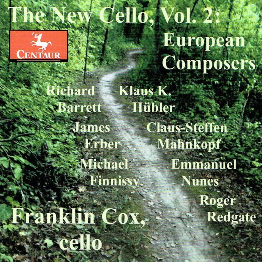 CRC 3390 The New Cello, Vol. 2