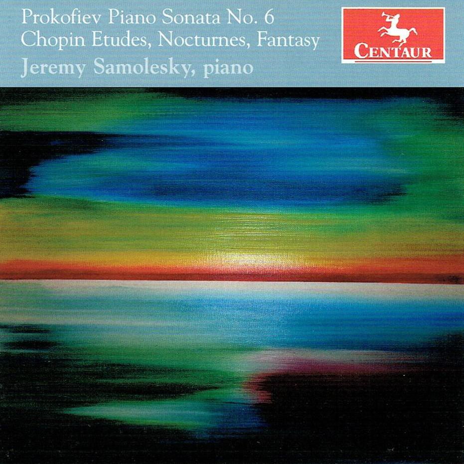 CRC 3406 Sergei Prokofiev:  Piano Sonata No. 6, Op. 82