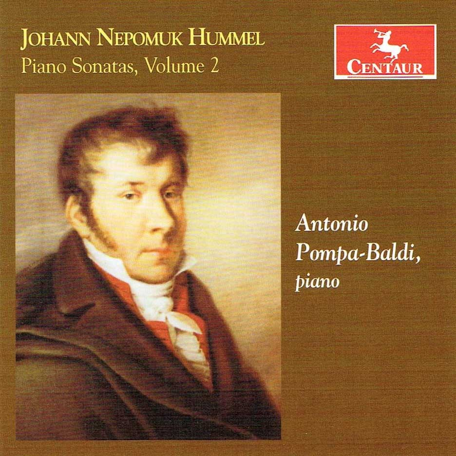 CRC 3411 Johann Nepomuk Hummel:  Piano Sonatas, Volume 2