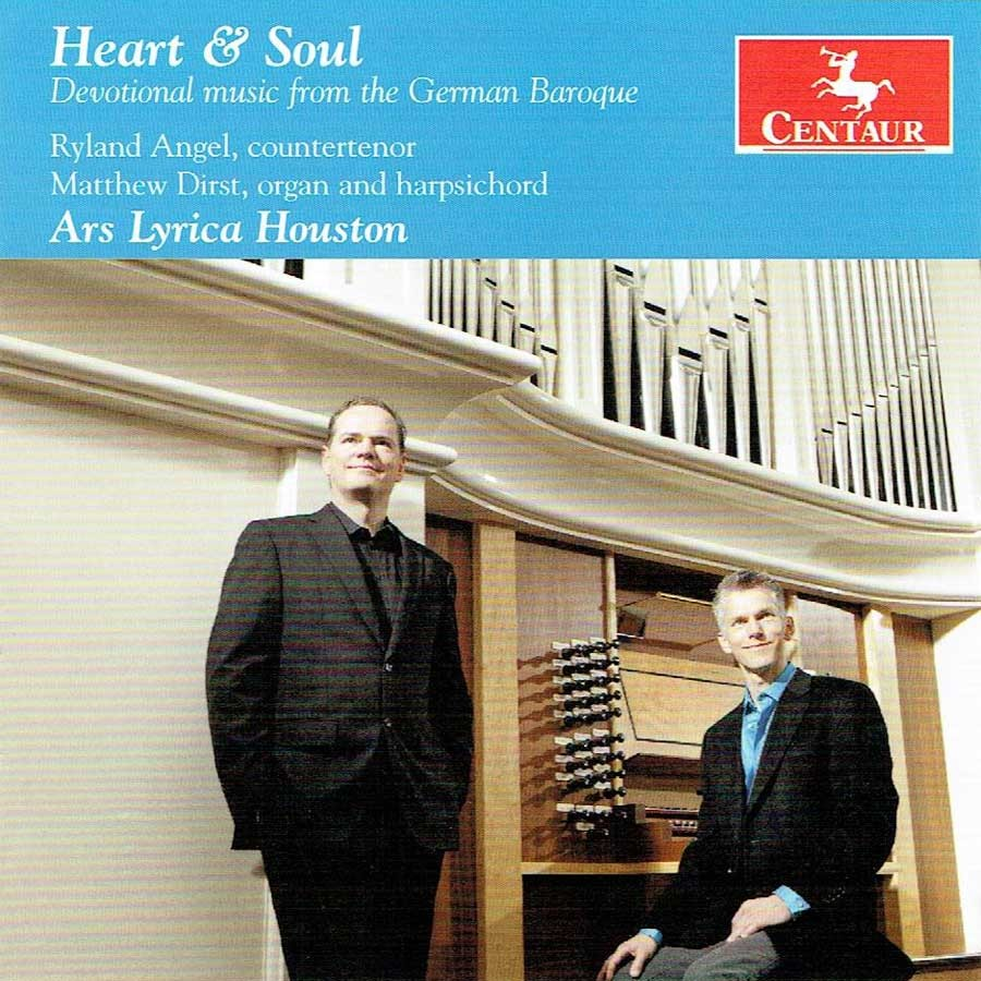 CRC 3426 Heart & Soul:  Devotional music from the German Baroque