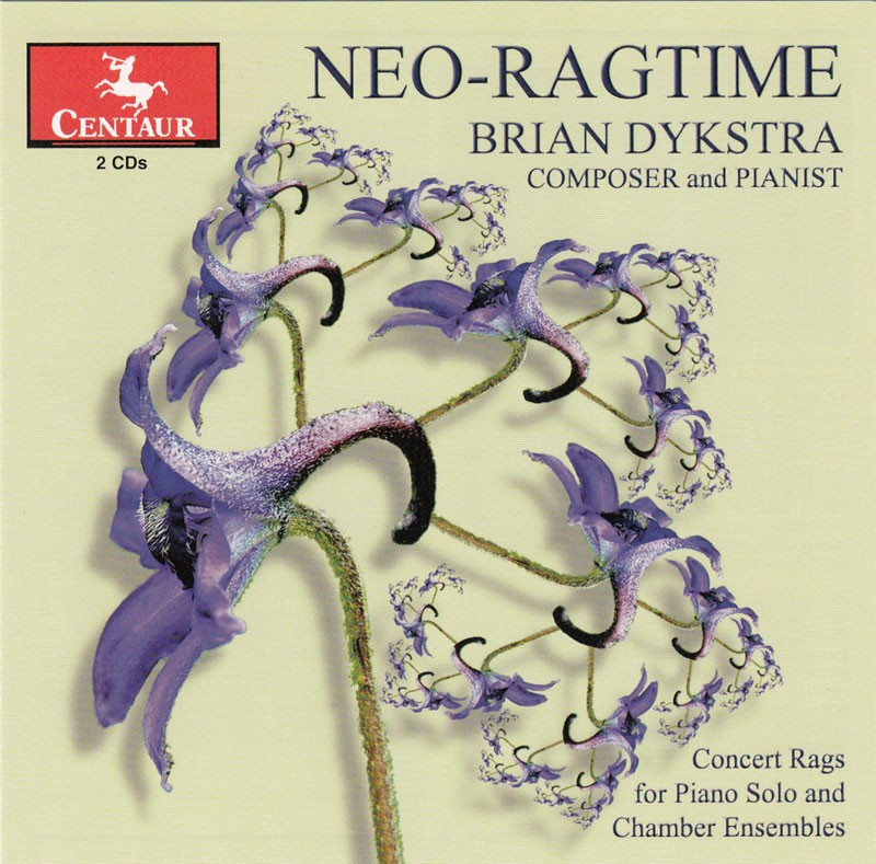 CRC 3161/3162 Brian Dykstra:  Neo-Ragtime.  Chamber Rags