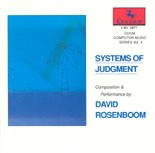 "CRC 2077 CDCM Computer Music Series, Vol 4 ""Systems of Judgment"