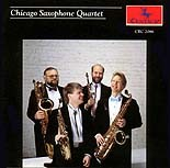 CRC 2086 The Chicago Saxophone Quartet