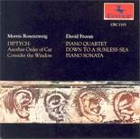 CRC 2103 M . Rosenzweig: Diptych