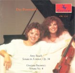 CRC 2119 Amy Beach: Sonata Op. 34