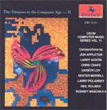 "CRC 2133 CDCM Computer Music Series, Vol.11 ""The Virtuoso in the Computer Age _ II."""