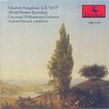 "CRC 2139 Schubert Symphony in E ""1825."" Cincinnati Philharmonia Orchestra, Gerhard Samuel, conductor. World Premier Recording"