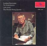 CRC 2141 Soulima Stravinsky: The String Quartets (3)