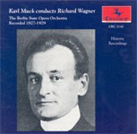 CRC 2142 Karl Muck conducts Richard Wagner