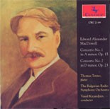 CRC 2149 Edward MacDowell: Piano Concertos Nos. 1 and 2