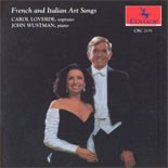 CRC 2151 French and Italian Art Songs