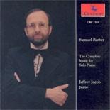 CRC 2162 Samuel Barber: Excursions, Op. 20