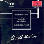 CRC 2173 Donald Martino:  Fantasies and Impromptus