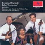 CRC 2176 Soulima Stravinsky:  Piano Trio