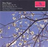 CRC 2183 Max Reger: Romantic Suite, Op. 125