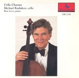 CRC 2192 Cello Charms, Michael Rudiakov, cello & Ron Levy, piano