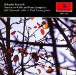 CRC 2207 Bosuslav Martinü: Sonatas for Cello and Piano (complete)