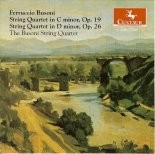 CRC 2268 Ferrucio Busoni:  String Quartet in C minor, Op. 19