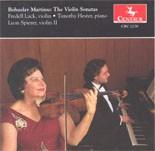 CRC 2276 Bohuslav Martinu:  The Violin sonatas-Sonata No. 1 for Violin and Piano