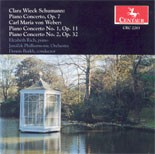 CRC 2283 Clara Wieck Schumann:  Concerto for Piano and Orchestra in A Minor, Op. 7