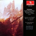 CRC 2305 Schubert:  Complete Works for Piano, Four-hands, Volume 2.  D. 798, D. 813, D. 819