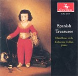 CRC 2315 Spanish Treasures.  Works by Albéniz, Eduardo Toldrá, de Falla, Granados, Ravel, and Sarasate