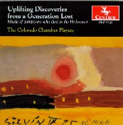 CRC 2342 Uplifting Discoveries from a Generation Lost:  Music of composers who died in the Holocaust.  Ervin Schulhoff:  String Quartet No. 1