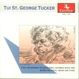 CRC 2354 Tui St. George Tucker:  First Recordings of Microtonal Chamber Music and Works for Voice, Organ and Piano