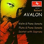 CRC 2430 Robert Avalon: Sonata for Violin & Piano, Op. 6