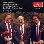 CRC 2443 Anton Arensky: Trio in D Minor, Op. 32