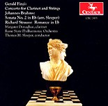 CRC 2453 Gerald Finzi: Concerto for Clarinet and Strings