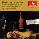 CRC 2463 Heinrich Ignaz Franz von Biber: Sonata a Violino Solo of 1681
