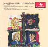 CRC 2479 Darius Milhaud: Sonata No. 1 for viola and piano, Op. 240