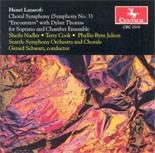 CRC 2519 Henri Lazarof: Choral Symphony (Sym. No. 3)