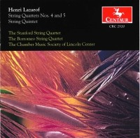 CRC 2520 Henri Lazarof: String Quartets Nos. 4 and 5