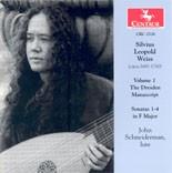 CRC 2526 Silvius Leopold Weiss: The Dresden Manuscript: Sonatas Nos. 1-4 in F Major