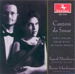 "CRC 2529 ""Canzoni da Sonar: Early Italian Violin Music on Vocal Models"""